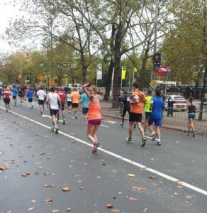 Stadhouderskade… nog een kilometer of vijf te gaan