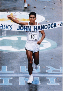 German Silva winning the NYCM in 1994