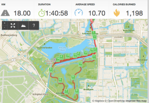 long run Amsterdamse bos