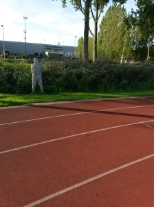 Interval training op 'the track'