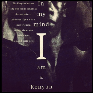 In my mind I am Kenyan
