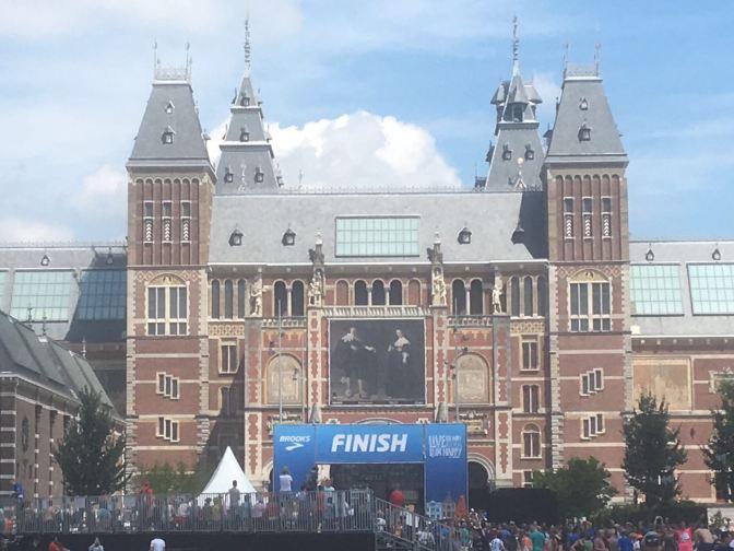 Finish onder het Rijksmuseum