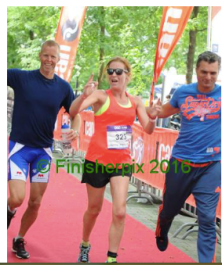 ICAN triatlon met Relay teamgenoten